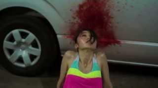Japanese Girl gets shot in the face Horror Movie - 1 second Film -