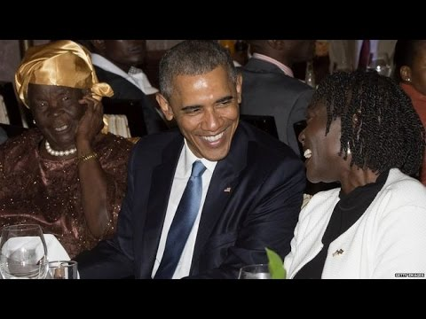 President Obama in Kenya 'Africa is on the move'