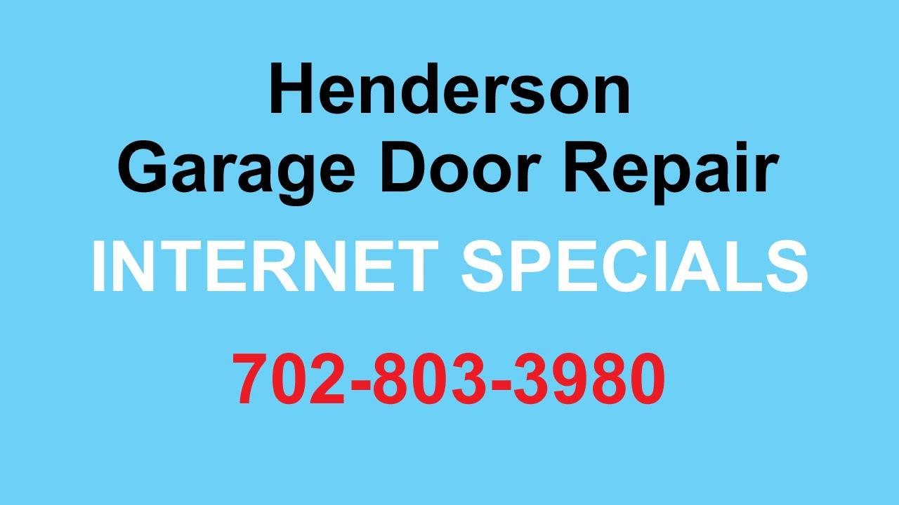 Henderson garage door repair 702 803 3980 garage door for Henderson garage door repair