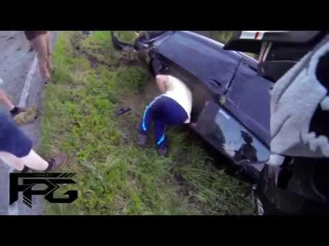 Hard Crash Audi A3 S-Line - Ride Safe