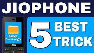 Jio phone  की 5 best trick jiophone मे क्या- क्या चलेगा