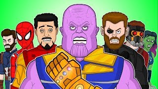♪ AVENGERS INFINITY WAR THE MUSICAL - Animated Parody Song