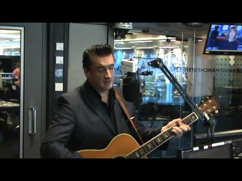 Dominic Halpin performing live on BBC Radio Manchester