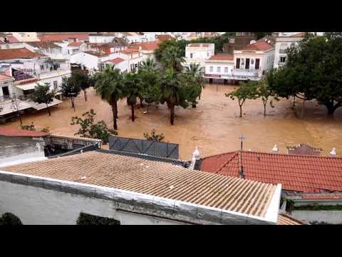 Flooding disaster in Albufeira - Portugal Part 3