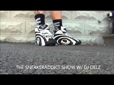 Reebok Shaqnosis Shoe Review + On Feet With @DjDelz Dj Delz