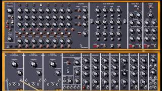 Sequencer Patch In Modular V