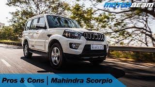 Mahindra Scorpio - Pros & Cons   MotorBeam