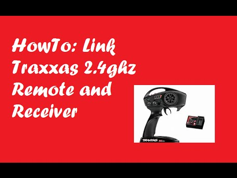 HowTo: Link Traxxas TQI 2 4ghz Remote and Receiver