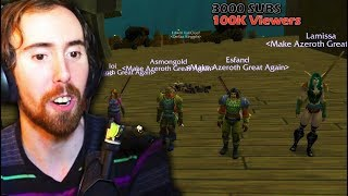 Asmongold World First DEADMINES Clear (WoW Classic Beta)