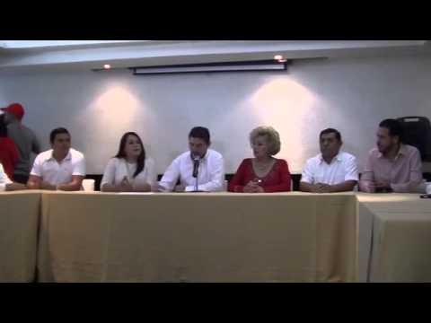 Diputados locales del PRI en Campeche manifiestan respaldo a precandidato
