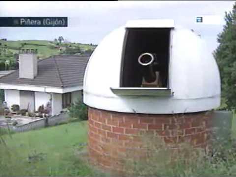 Observatorios astronómicos en Asturias