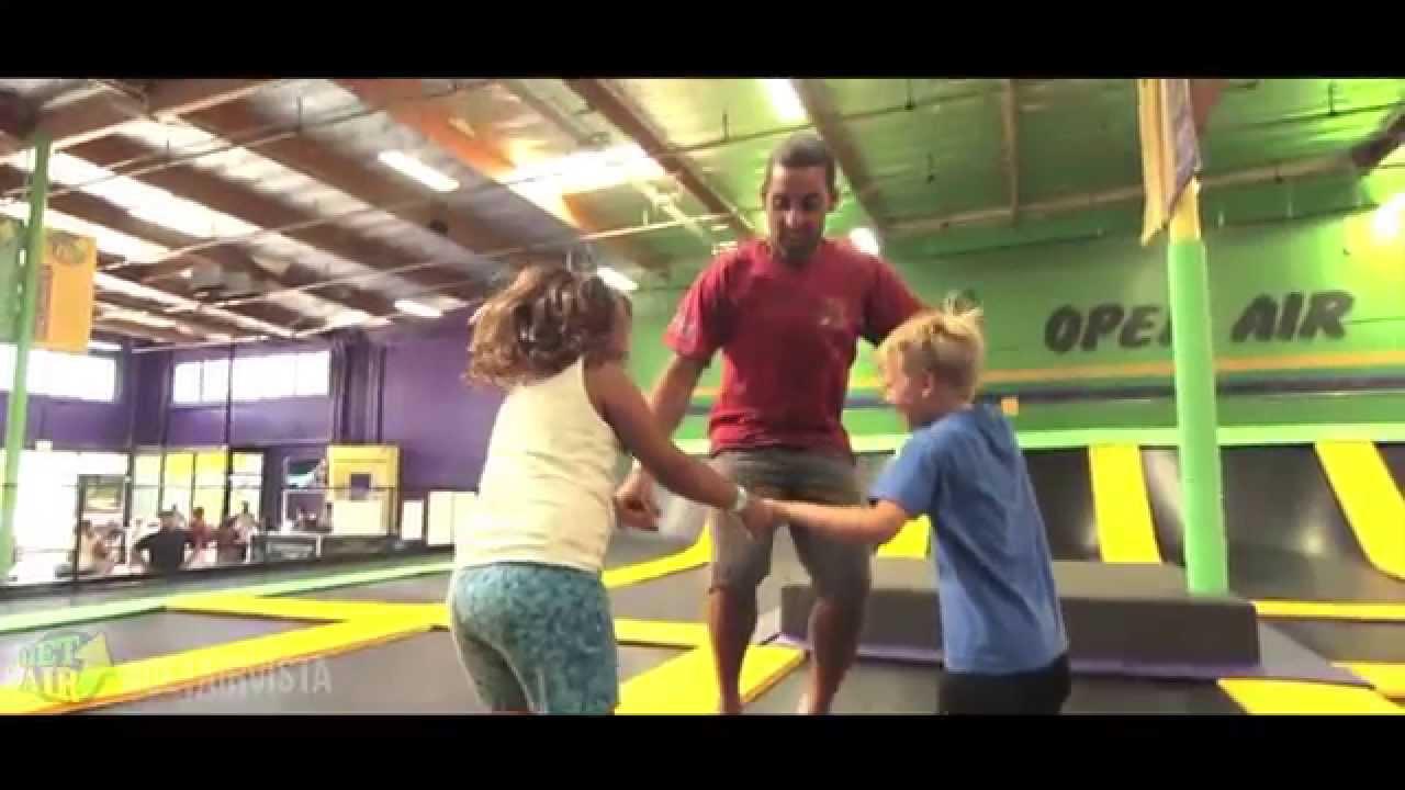 Get Air Vista Trampoline Park Features - YouTube