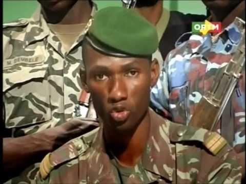 Communiqué du CNRDRE, d'Amadou Sanogo;après les attaques de Kati, l'ORTM,et l'aéroport Bamako