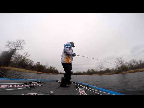 Lake Dardanelle-Pre Fishing for Bassmaster Elite 2014