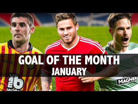 SPFL goal of the month Jan