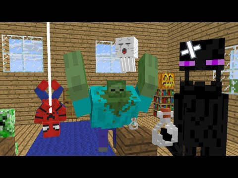 Monster School : Brewing - Minecraft Animation