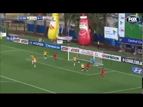 Central Coast Mariners 0-2 Adelaide United