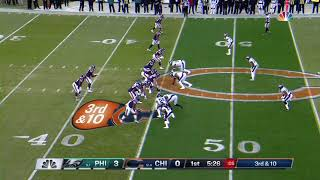 Mitch Trubisky vs Eagles (Full Coverage)