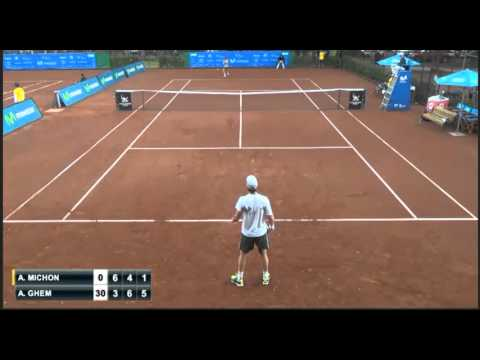 Ultimate tanking by Axel Michon in Santiago Challenger 2015