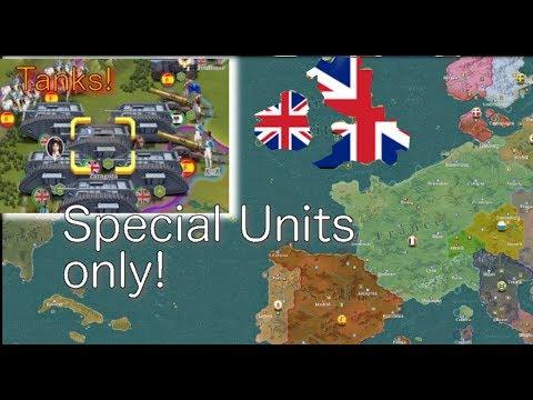 European War 6: British Special Units only! #1
