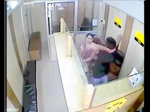 Bank employee CctV Footage **caught on camera** thumbnail