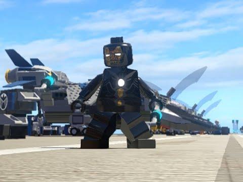 LEGO Marvel Superheroes - IRON MARK 15 FREE ROAM GAMEPLAY (MOD SHOWCASE)
