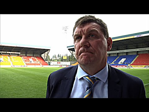 Tommy Wright and Chris Millar reflect on loss to Dundee