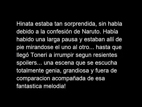 ¡¡Confesion de Naruto!! Sub español (Grabacion de cine en The last)