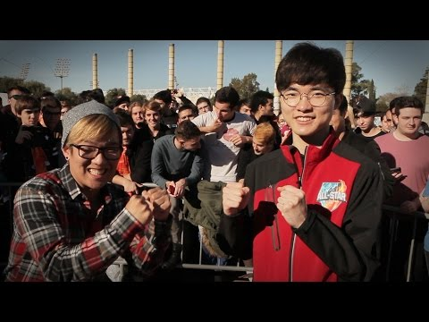 Faker Wins /ALL Star Chat [League of Legends]