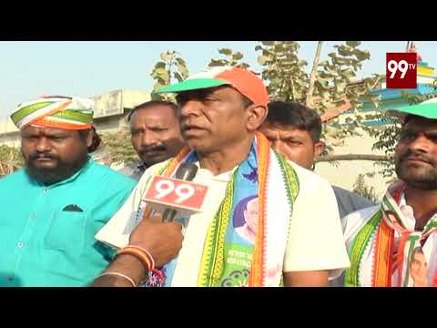 Korutla Congress Candidate Juvvadi Narsing Rao Face To Face Over TS Election | Congress Party | 99TV