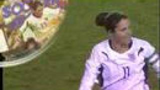 National Soccer Hall of Fame Induction 2007 Julie Foudy
