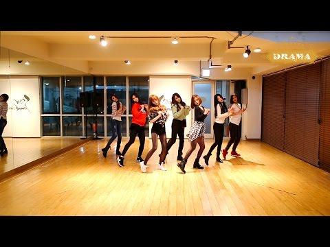 나인뮤지스[9muses] - 드라마(drama) 안무 연습영상(dance Practice) video