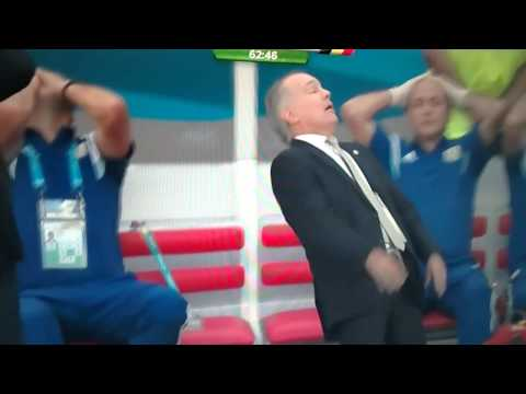 Alejandro Sabella almost faints