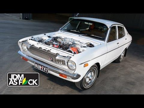VG30 turbo Datsun sleeper ~ JDM as F_CK