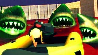 ZOMBIE SHARKS - Amazing Frog Halloween Update - Part 160 | Pungence