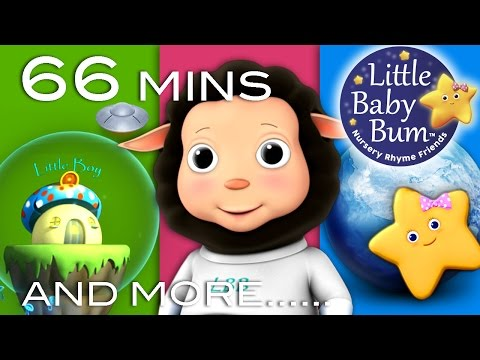 Baa Baa Black Sheep | Plus Lots More Children's Songs | 66 Minutes Compilation From Littlebabybum! video
