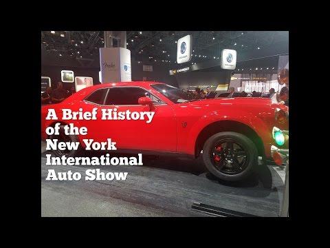History of New York International Auto Show