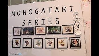 MONOGATARI Exhibit at Kodansha Vertical Comic Anime Expo 2018 Booth