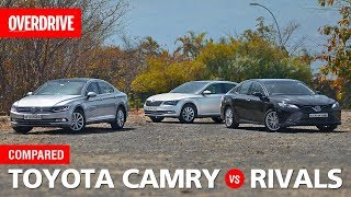 Toyota Camry v Skoda Superb v Volkswagen Passat | OVERDRIVE