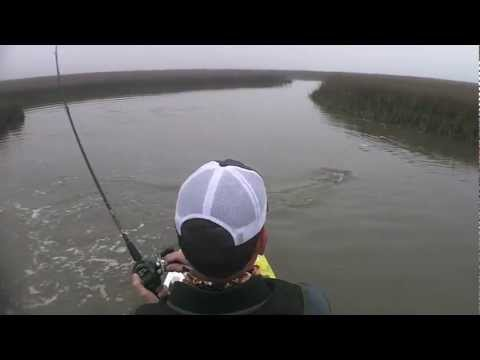 Galveston Bay Kayak Redfish