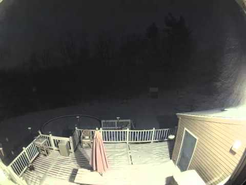 Blizzard of 2013 TIme Lapse - Winter Storm Nemo