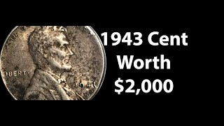 1943 Lincoln Cent Penny Value - Do You Have A 1943 Penny Worth $3,000?