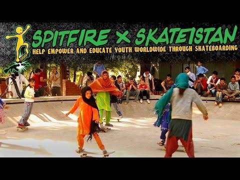 Spitfire X Skateistan:  By Hamdullah Hamdard