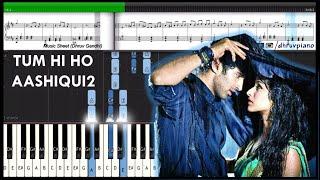 download lagu ♫ Tum Hi Ho Aashiqui 2  Piano Tutorial gratis