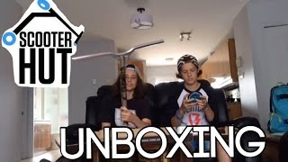 Scooter Hut Unboxing | Team Stunt Scoot | Fr