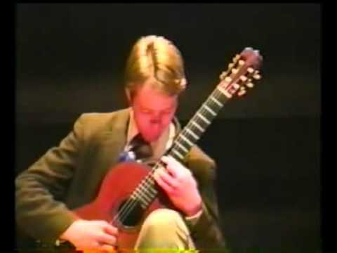 Stuart Buck playing Rodrigo's Fandango at 1994 Parkening Masterclass