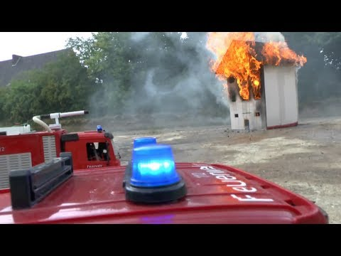 RC CRASH, HOUSE ON FIRE, BIG FIRE, RC FIRE TRUCK, RC LADDER, RC FIRE ENGINE, BIG HOUSE FIRE