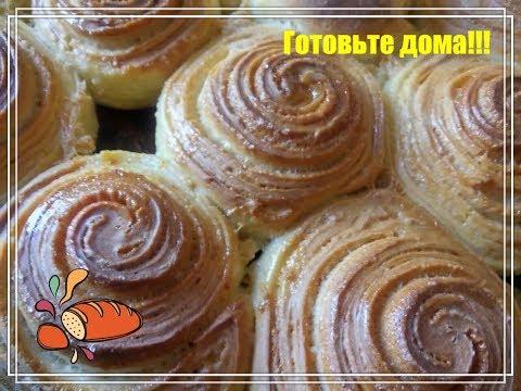 Сахарные булочки в медовой заливке!
