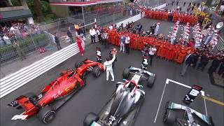 F1 Pays Tribute To Niki Lauda in Monaco