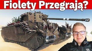 FIOLETY PRZEGRAJĄ? - 3vs3 i Turniej o Złoto - World of Tanks